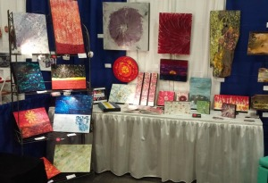 Shaw Centre at the Body Soul & Spirit Expo with fellow artist Jill Carty