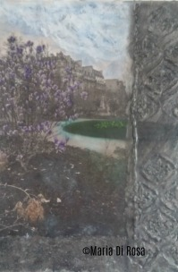 ©Maria-Di-Rosa-encaustic-mixed-media-161-WalkwayI-France-2018