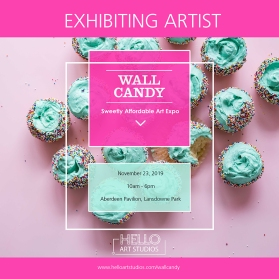 Wall Candy - Exhibiting Artist - Promo Image