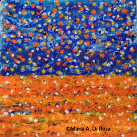 ©Maria-Di-Rosa-encaustic-2019-#178-Untitled-Earth's-Imagination-in-Wildness
